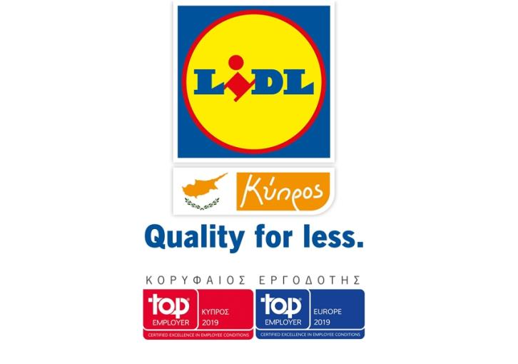 Lidl Cyprus receives