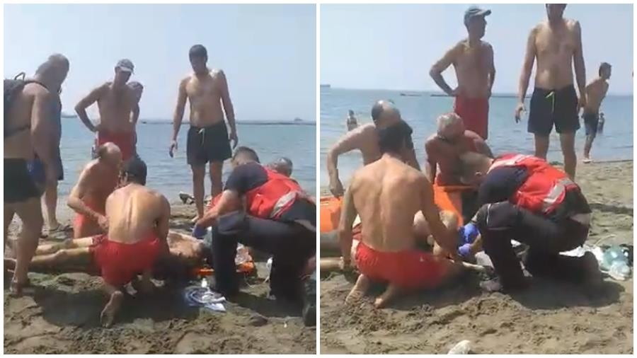 Limassol: Lifeguards save a 40 year old man