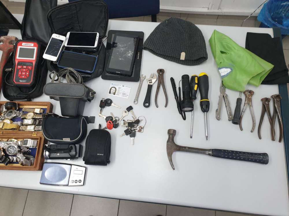 Limassol: Two arrested after police find burglary tools