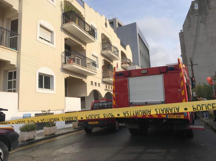 Elderly woman hospitalised after Limassol fire - 60 residents evacuated