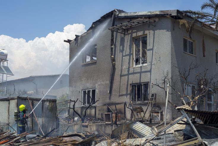 Fire at Limassol home causes extensive damage