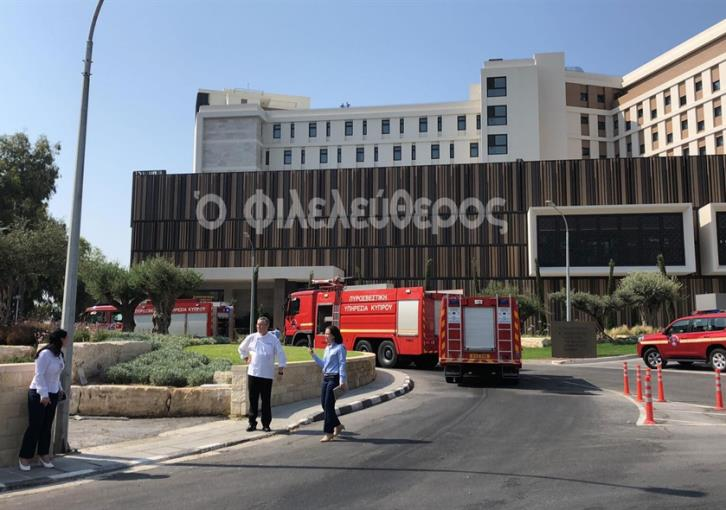 Limassol hotel evacuated because of fumes
