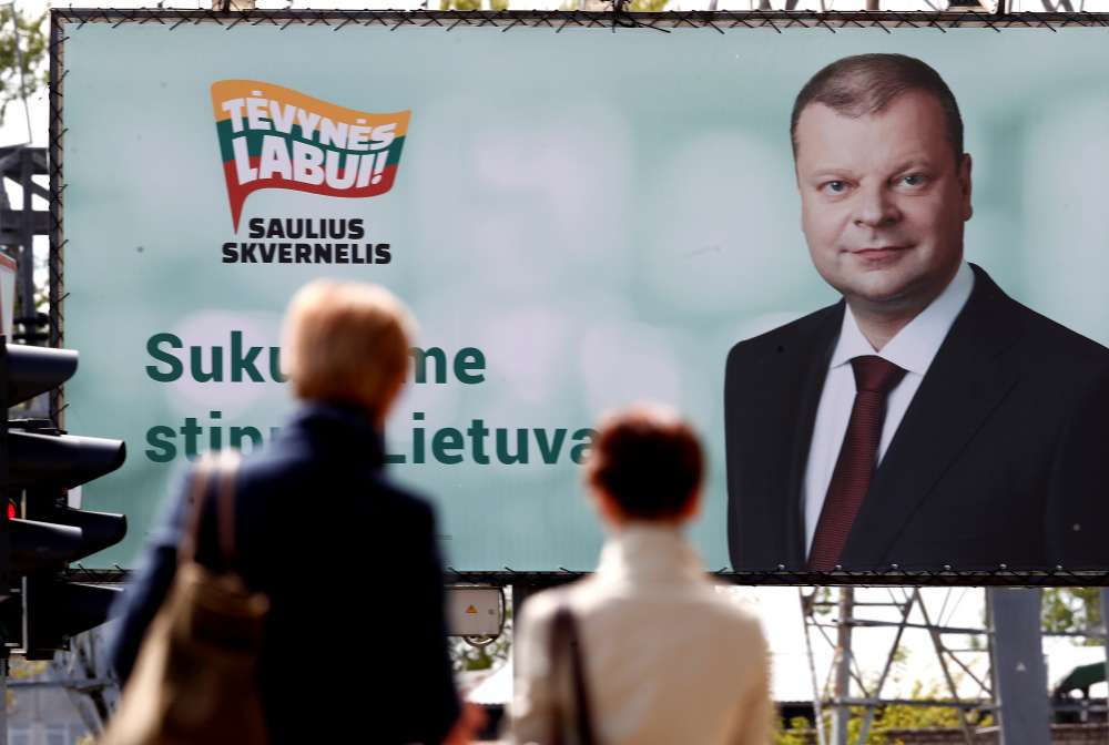 Lithuanian presidential hopefuls vow to tackle inequality