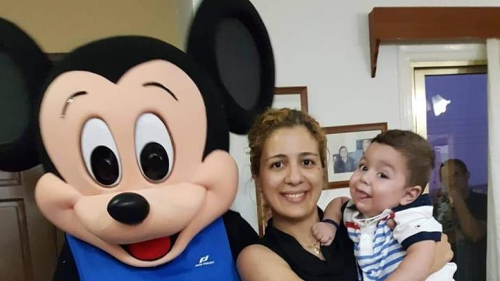 Little Antonis' mother shares family's experience in Boston