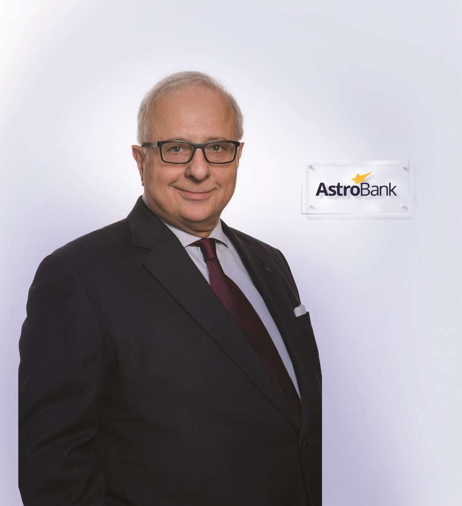 Constantinos Loizides is Astrobank's new CEO