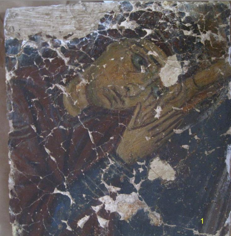 Four fragments of looted frescoes from occupied Cyprus return home (video)