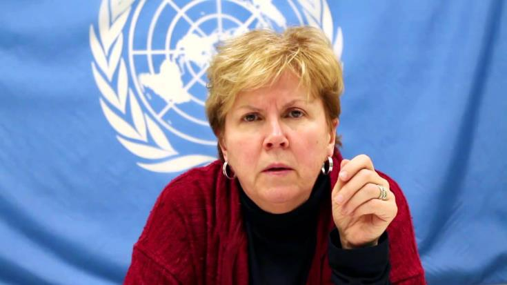 Nicosia has given the green light for Jane Holl Lute's appointment by the UNSG