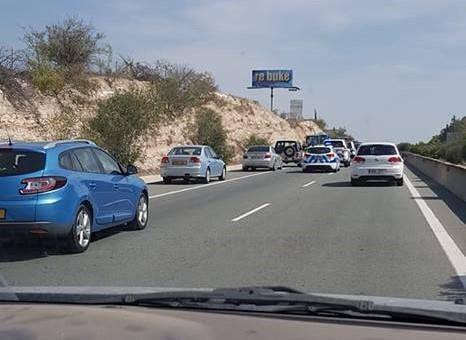 Nicosia to Larnaca motorway blocked due to Lympia protesters