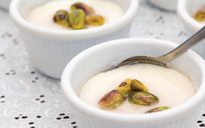 Machalepi with milk