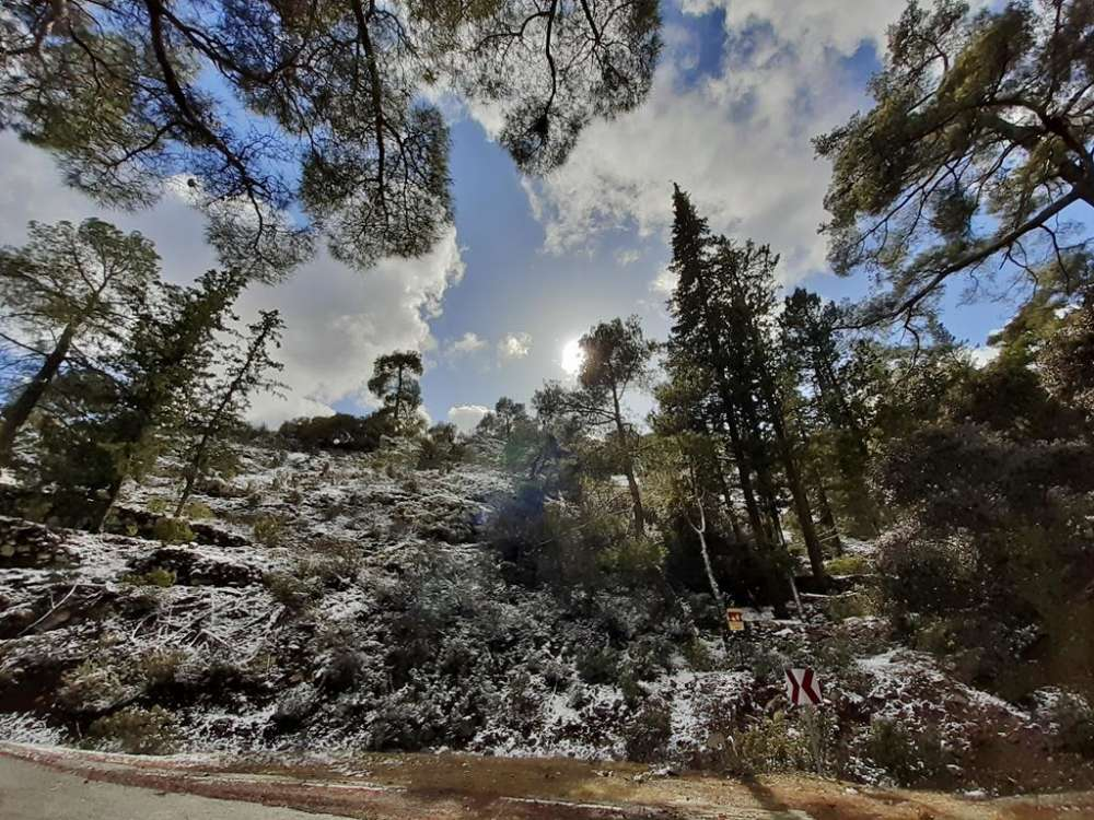 Winter scenes from Macheras (photos