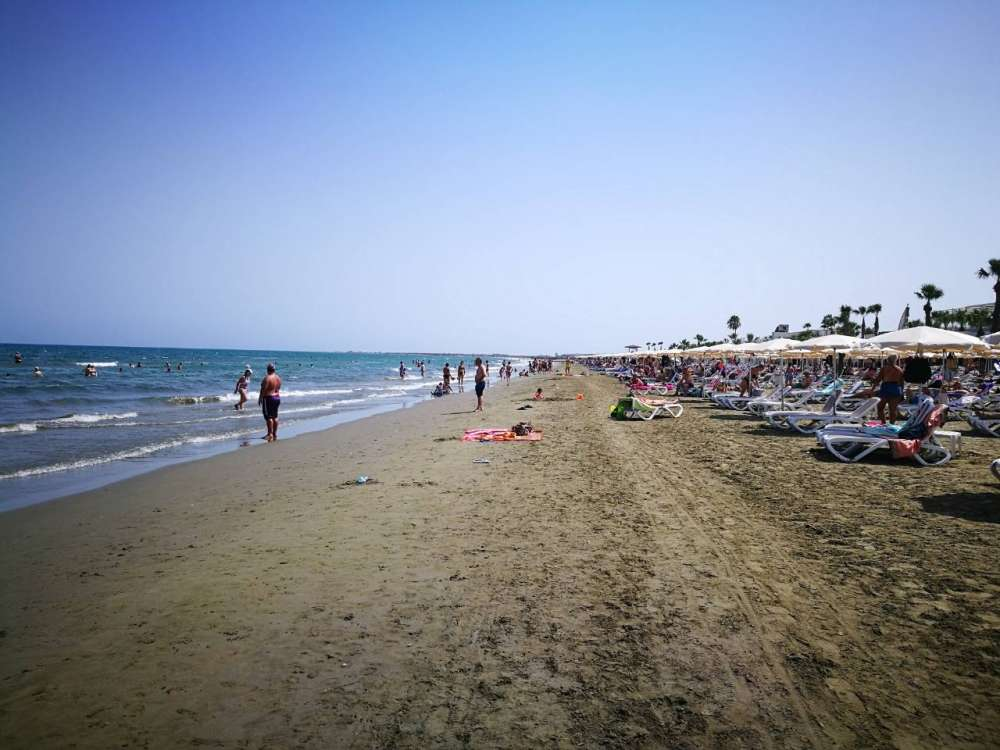 Larnaca lifeguards rescue six year old boy from near drowning