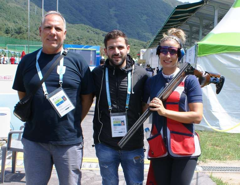 Cypriot shooter wins gold medal in South Korea World Cup