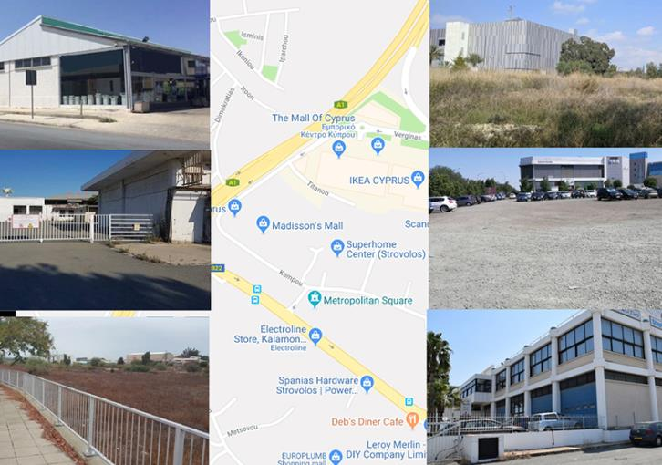 Prime commercial land on sale near Mall of Cyprus
