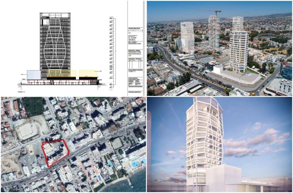 """Mandarin Park"": A 16-storey tower in Germasoyia"