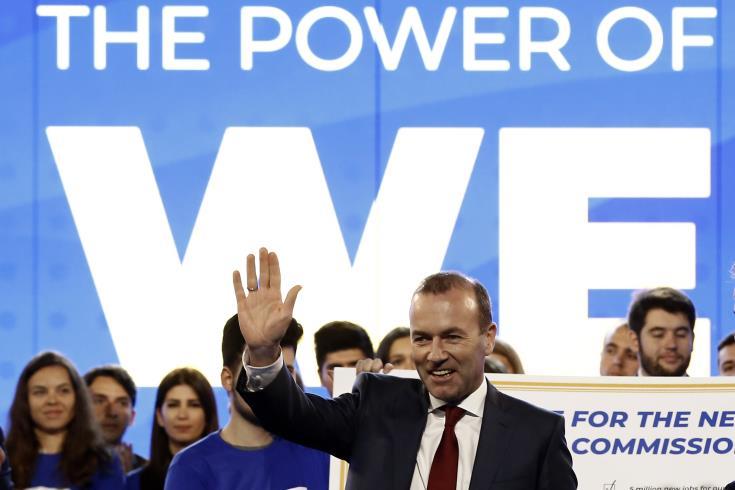 EPP and spitzenkandidat Weber condemn Turkey's drilling activities