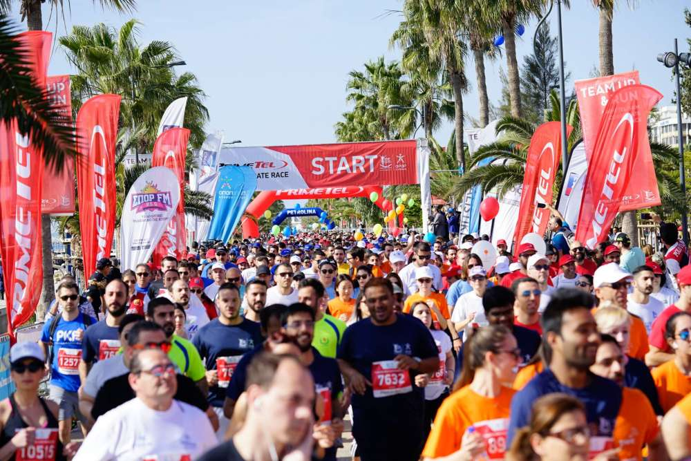 Which roads will be closed during Limassol's marathon?