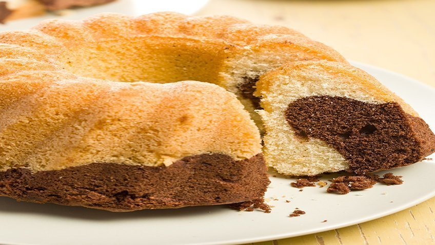 Grandma's marble cake