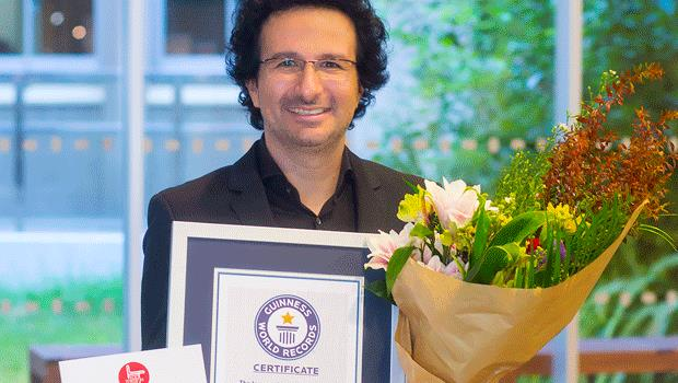Music composer from Paphos enters Guinness Book of Records list