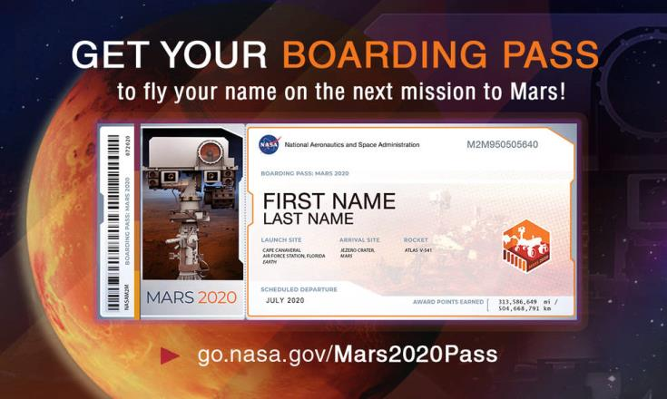 More Cypriots want to send their names to Mars