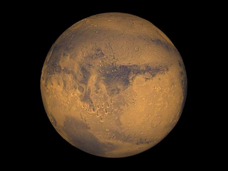 Mars to reach closest point to Earth since 2003 on Tuesday