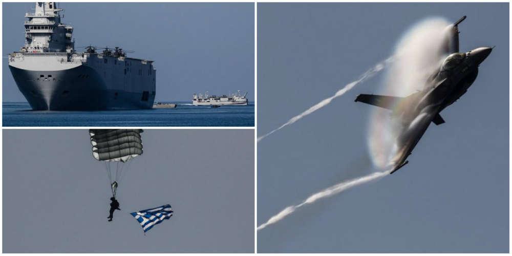 "Impressive photos from Greek-Egyptian-Cypriot military exercise ""Medusa 9"""
