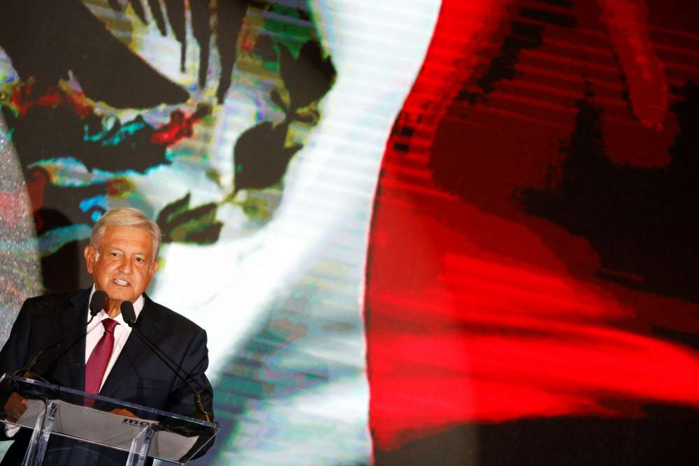 Mexico peso wobbles after leftist Lopez Obrador's big win