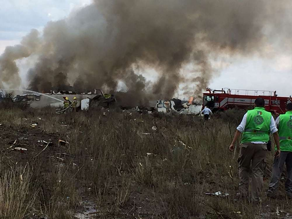 Passengers 'grateful to God' after plane crashes in Mexico with no deaths