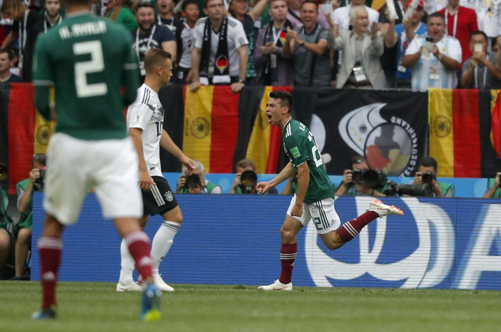A fearless Mexico stuns Germany in the World Cup