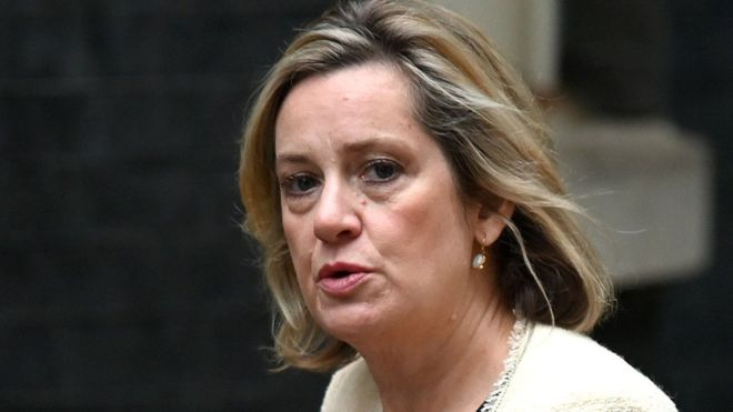 Britain: Work and Pensions Secretary Amber Rudd quits government