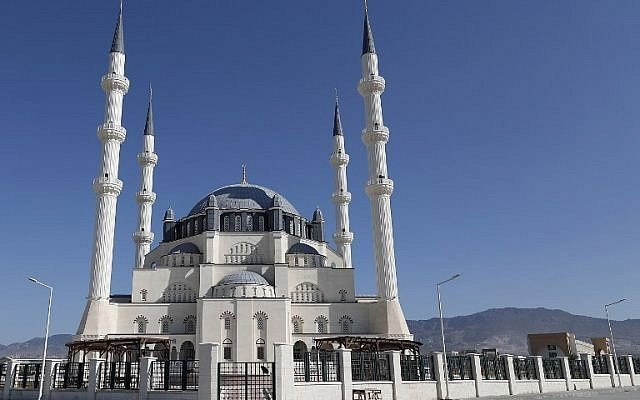 Erdogan to inaugurate giant mosque in occupied north Cyprus