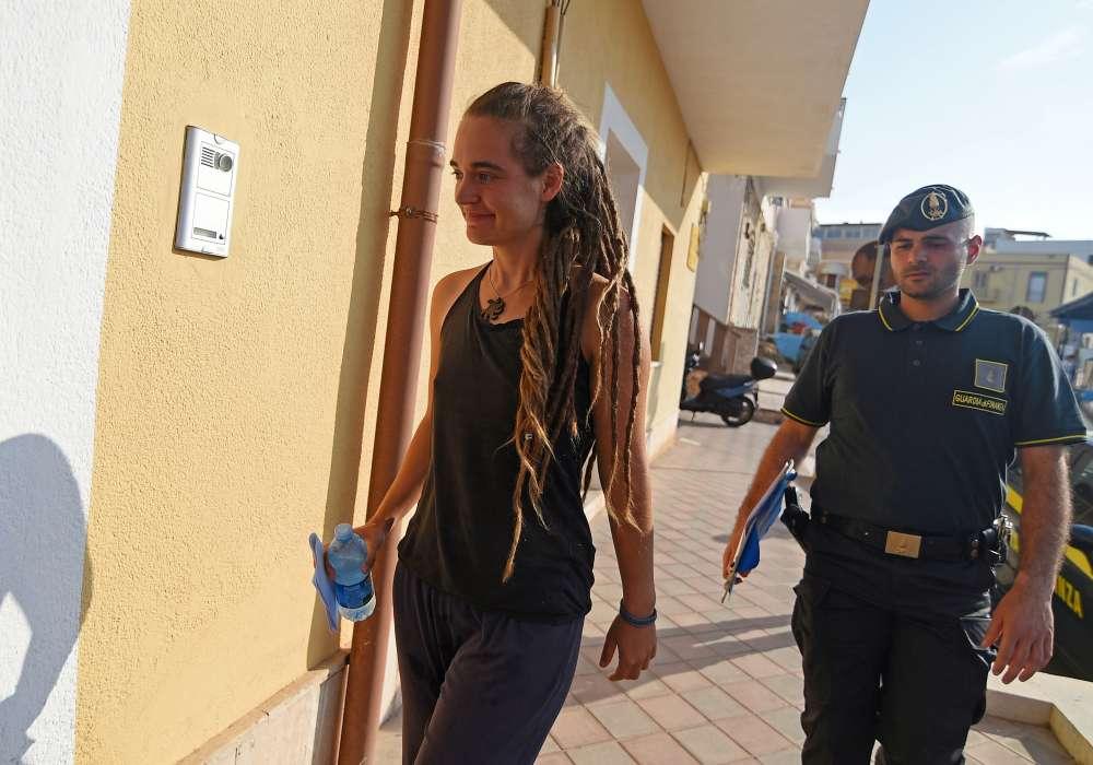 Migrant rescue ship captain regrets Italian docking scare