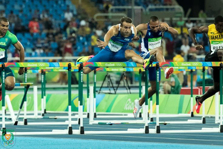 Milan Trajkovic wins Cyprus' first-ever gold medal in European Indoor Championships (video)