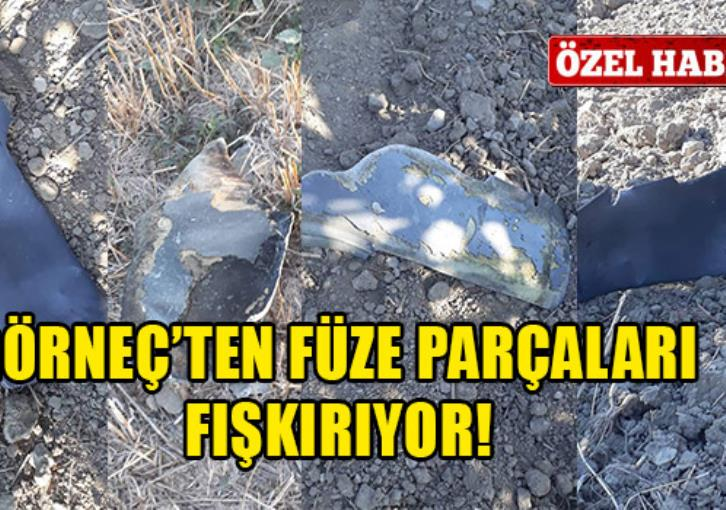 More pieces of errant S200 missile found in Turkish-held north