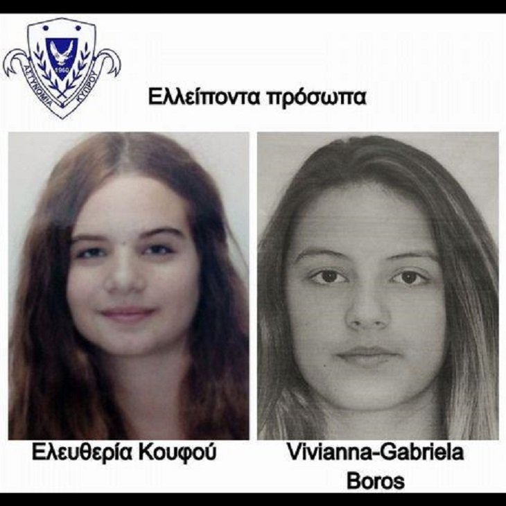 Two teenage girls missing from Nicosia residence