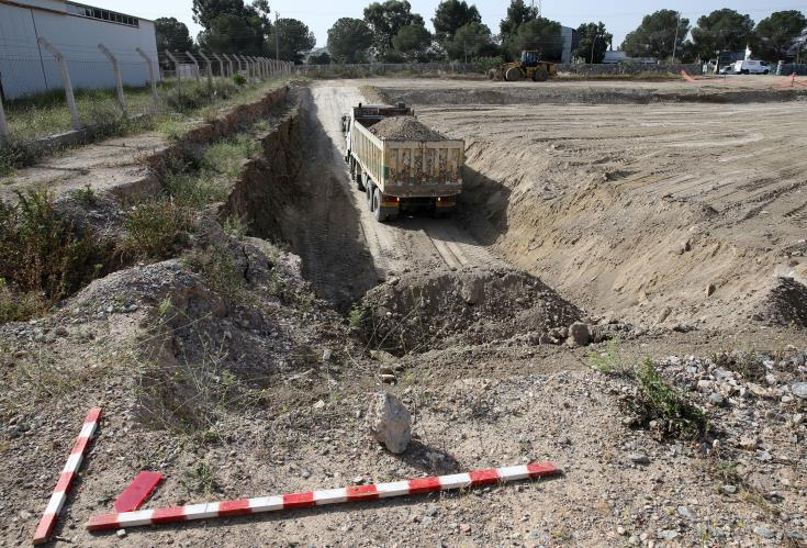 CMP excavation in Strovolos for remains two T/C missing persons