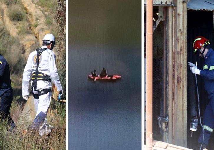 Mitsero murders: Search of mine shaft
