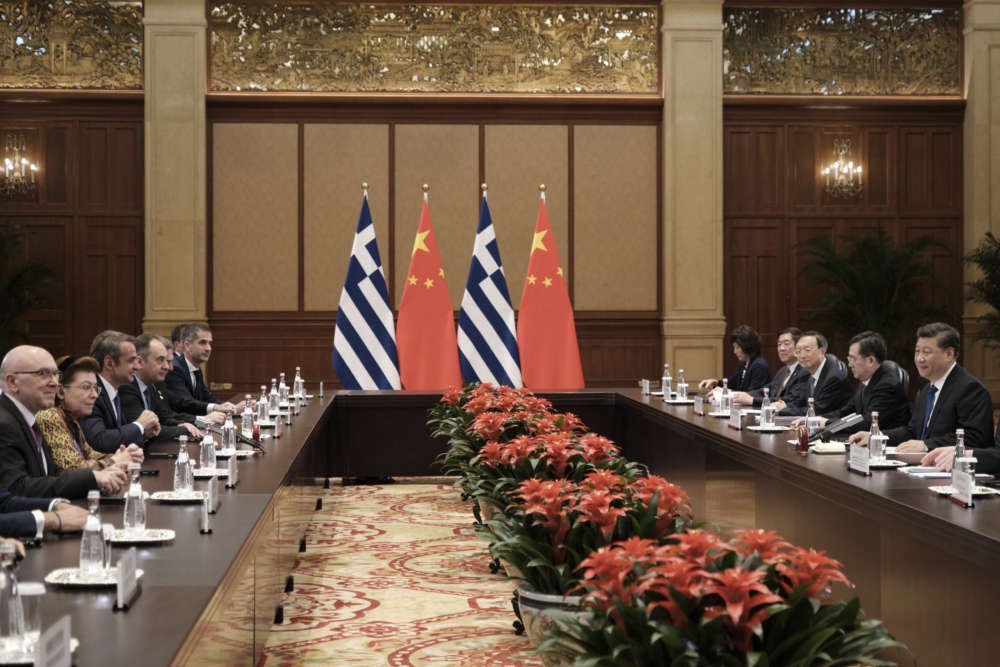 Mitsotakis tells Chinese President Xi Jinping Greece ready to facilitate foreign investments