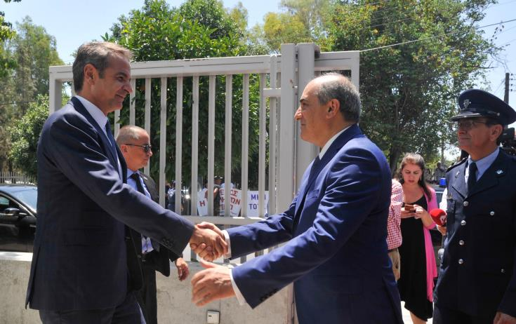 Greek Premier says challenges will be addressed within EU and framework of trilateral cooperation