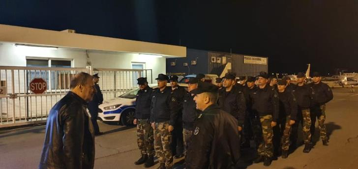 Cyprus sends security force to Greece amid Evros migrant crisis