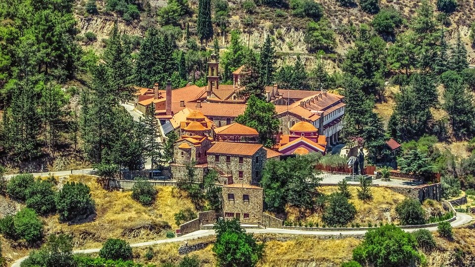 Monastery, Orthodox, Religion, Christianity, Landscape