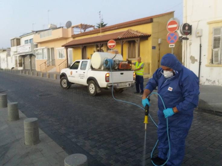 Larnaca Municipality stepping up mosquito spraying
