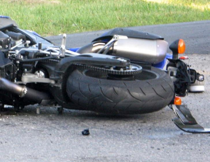 Larnaca: Biker critical after collision with car