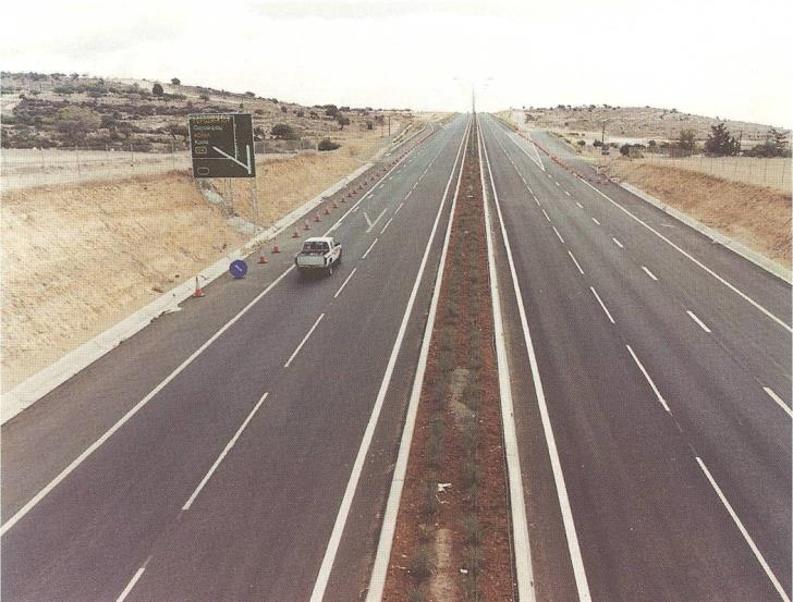 Motorway traffic to Nicosia diverted