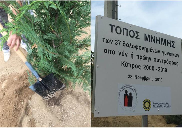 37 trees for 37 murdered women (photos)
