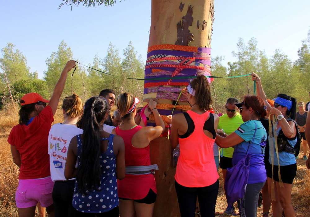 Cyprus Trail Runners pay tribute to Natalie with Living Life Joyfully run
