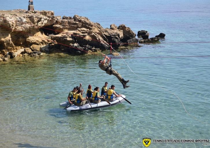 National Guard carried out sea training exercise (photos)