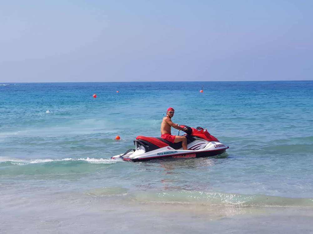 Jet skis for Coral Bay lifeguards