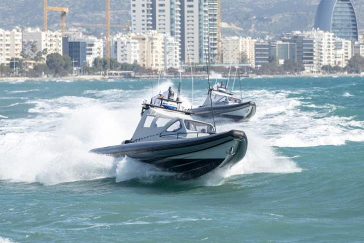 Cyprus navy acquires two new crafts