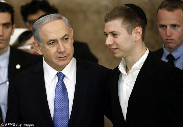 Benjamin Netanyahu's son uploads controversial Instagram image about Turkey