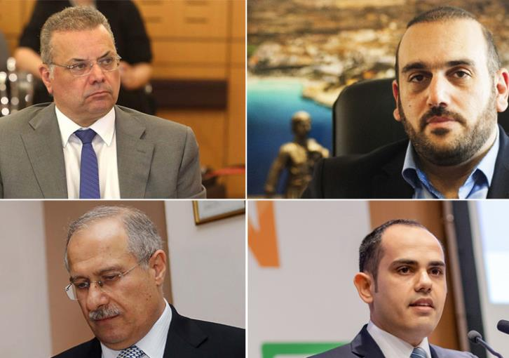 The four new names in the Anastasiades government